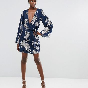 Keepsake No Limits Kimono Dress at asos.com