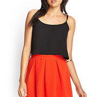 FOREVER 21 Ribbed A-Line Skirt
