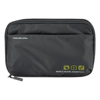Black World Travel Essentials Tech Organizer