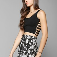 OBEY Wild Child Cutout Cropped Tank Top - Urban Outfitters
