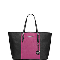 MICHAEL Michael Kors Jet Set Travel Colorblocked Medium Tote