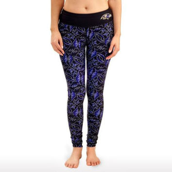 Baltimore Ravens Womens Official NFL Thematic Leggings