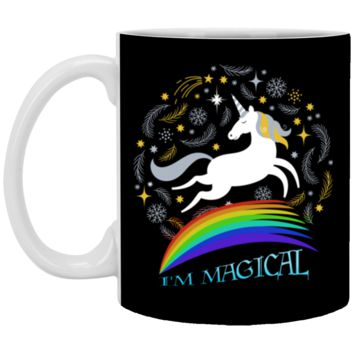 I'm Magical Cute Unicorn XP8434 11 oz. White Mug