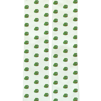 Patterned Pepe Socks