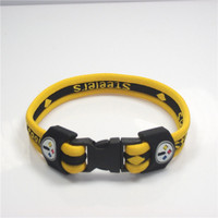 Pittsburgh Steelers Titanium Bracelet unise mens womens football