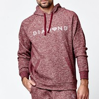 Diamond Supply Co - Garnet Speckle Pullover Hoodie - Mens Hoodie