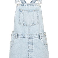 MOTO Slim Fit Short Dungarees - Playsuits & Jumpsuits - Clothing