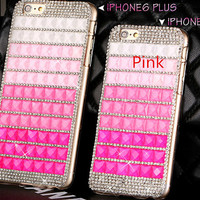 Crystal iphone case for iphone 4/4s/5/5s cases iphone 6 case iphone 6 plus case fashion bling rhinestone iphone 6 iphone 6 plus cases cover