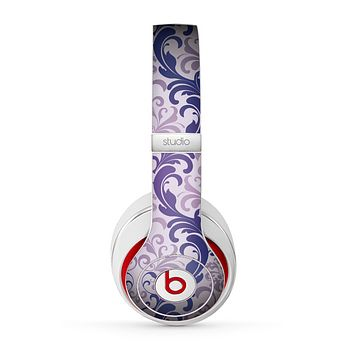 The Royal Purple Laced Wallpaper Skin for the Beats by Dre Studio (2013+ Version) Headphones