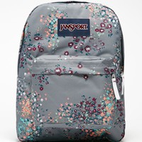 JanSport Superbreak Shady Gray School Backpack - Womens Backpack - Gray - One