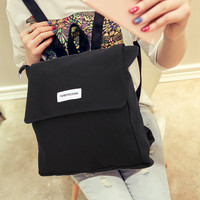 Candy Color design CanvaSimple Women Backpack Middle School Student Book Bag Leisure Travel backpack Mochila Feminina