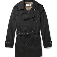 Saint Laurent - Double-Breasted Twill Trench Coat | MR PORTER