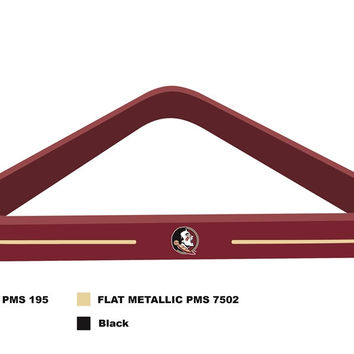 Florida State Billard Ball Triangle Rack