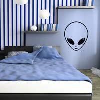 Vinyl Wall Decal Extraterrestrial UFO Alien For Kids Room Stickers Mural (ig1387)