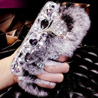 Day-First™ Fluffy Furry Case for iPhone