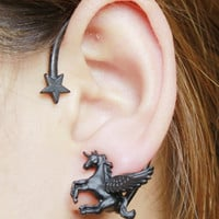 Unicorn Designed  Ear Cuff