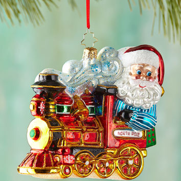 North Pole Express Christmas Ornament - Christopher Radko