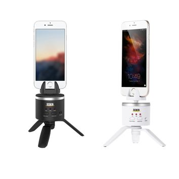 Panorama Pan-shooting Phone Camera 3-legged Rotatable Tripod Mount with Holder for iPhone iPad Samsung Huawei Xiaomi HTC Sony