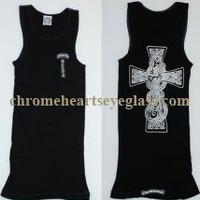 Chrome Hearts T Bar Print V9 Tank Top Black [Print V9 Tank Top Black] - $134.99 : Chrome hearts online shop:chrome hearts jewelry 2012 collection!