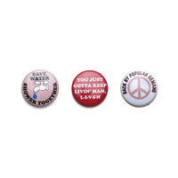 70s PEACE PIN PACK