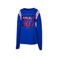 Buffalo Bills NFL Womens Baby Jersey Long Sleeve Crewneck