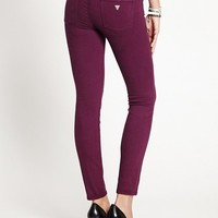 Mid-Rise Power Curvy Colored Jeans | GUESS.com