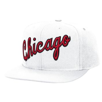 Chicago Bulls Hardwood Classics 1984 Solid Wool Snapback By Mitchell & Ness