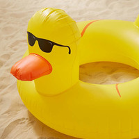 Rubber Duckie Inner Tube Pool Float | Urban Outfitters