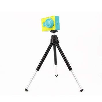 ZJM Xiaomi yi accessories aluminum Mini tripod stick for with Mobile Phone Stand Holder for xiaomi yi sport action camera