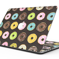 Yummy Colored Donuts v2 - MacBook Pro with Retina Display Full-Coverage Skin Kit
