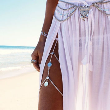 Boho Multilayer Belly Chain