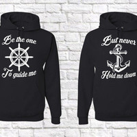Be The One To Guide Me Unisex Matching Couple's Hoodies