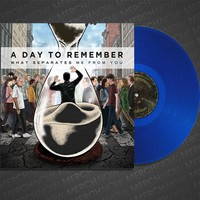 "What Separates Me From You Clear Blue 12"" Vinyl : MNDI : MerchNOW"