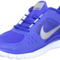 Nike Free Run+ V3 Shield Running Shoes - 7.5 - Blue