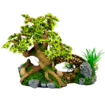 Top Fin Bonsai Bridge Aquarium Ornament