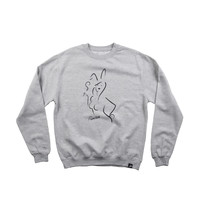 COTTON TAIL CREWNECK - ATHLETIC HEATHER