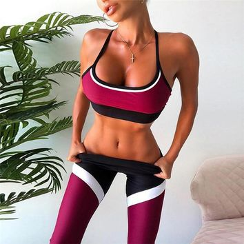 Women's Fashion Hot Sale Summer Stylish Yoga Bottom & Top [1934967537761]
