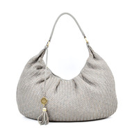 Bonnaire Round Hobo Charcoal