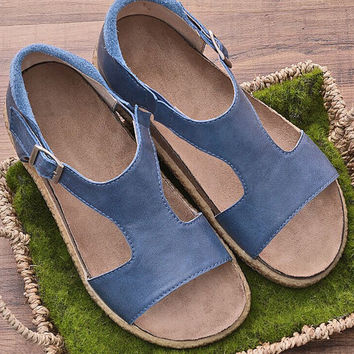 2 Colors Handmade Women'S Soft Leather Summer T-Strap Sandals,Designer Shoes Women Natural Flat Shoes  Brown Leather Shoes