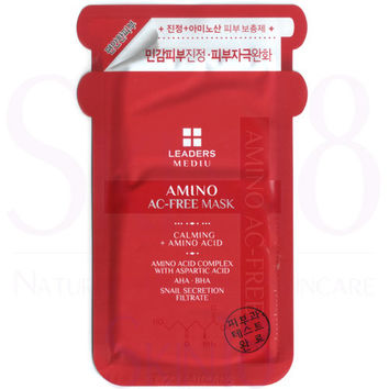 Leaders Mediu Amino AC-Free Mask (Calming + Amino Acid)