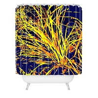 Rosie Brown Silly Strings Shower Curtain