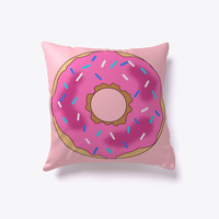 Sweet Donut Decorative Indoor Pillow