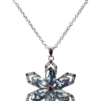 """Holiday Collection Snowflake - 16""""-18"""" Necklace with 1.25"""" Crystal Snowflake Pendant made from Swarovski Elements"""