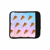 "Juan Paolo ""Lucid Pizza"" Food Pattern Luggage Handle Wrap"