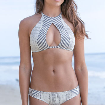 The Girl and The Water - Made by Dawn - Hunter Bikini Top / Lily - $94