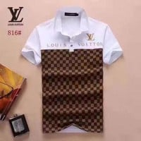 LV men and women T-Shirt