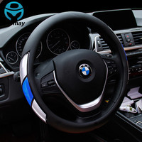 Reflective Movement Diamond Steering Wheel Cover 3 Colors Anti-slip For 38CM Car Styling Steering-wheel Car-covers Free Shipping