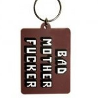 Bad Mother Fucker Rubber Keyring - Buy Online at Grindstore.com