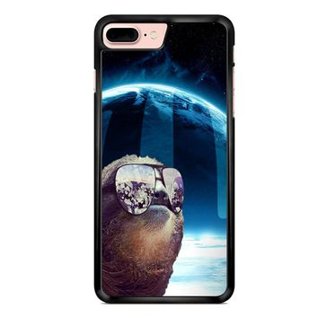 Sloth Llama Laser iPhone 7 Plus Case
