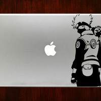 "Kakashi Naruto m363 Decal Sticker Vinyl For Macbook Pro Air Retina 13"" 15"" 17"" Inch Laptop Cover"